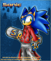 :: Sonic :: by wavethehedgehog