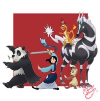 Mulan Pokemon trainer