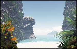 Secluded Cove by jbjdesigns