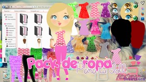 Pack ropa para dolls by LightAddiction