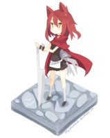 The Brave Little Red Ridding Hood by Musahashi