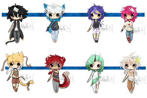 Mini Adopts #1 (OPEN 1/8 REDUCED PRICE) by NPAdopts