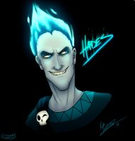 Hades, Lord of the Dead by Katie-Luzadder