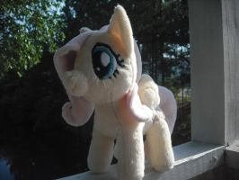 My newset Fluttershy Plush by SecludedOtaku