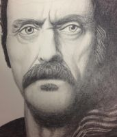 Ian McShane by jokerproduct