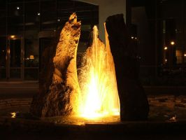 Fire Fountain by gaborp
