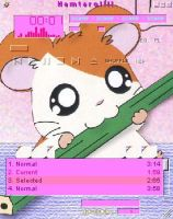 Pencil and Hamtaro by kelingking2