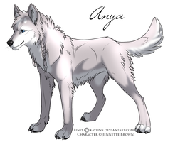 Anya Character by sugarpoultry