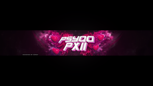 PsyQo Pxii Splatter 2D Layout by Xeroh by PrinceXeroh