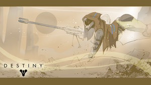 Destiny Hunter Wallpaper by PawFeather