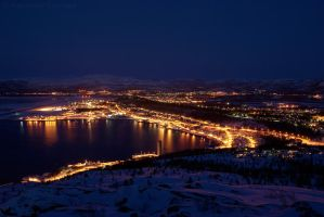 Eastern Alta by Night by netrex