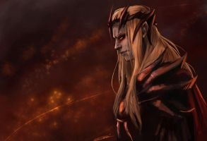 Sauron - Commander of Angband by rosythorns