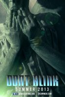 Weeping Angel Character Poster by MisterTimeLord