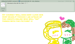 Question 43 - A kiss for Mrs. Chair! by Ask--Stephano