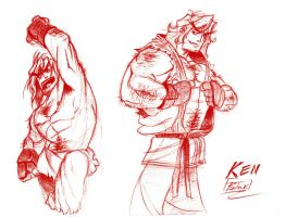 ken - street fighter - concept by BookerJ