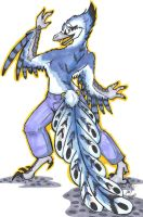 Archaeopteryx Guy by Margolo-Blu