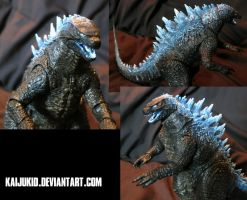 Customized Fire Charge Legendary Godzilla Figure by kaijukid