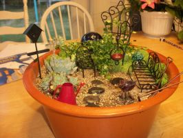 Fairy Garden 2 by QueenAliceOfAwesome