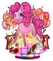 MLPFIM - Pinkie Pie by 2Dea
