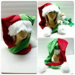 Holiday Jester Hat by Catzilerella