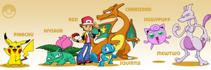 SMASH: Pokemon Team by professorfandango