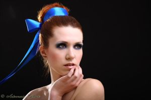 Blue Ribbon by Gilliann