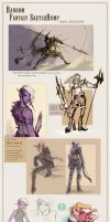 RO: (and other fantasy things) SketchDump by Tyshea