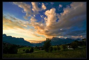 When Clouds And Mountains Meet by Scapes-club