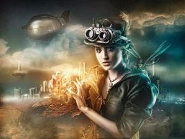 Steampunk soccerer by Costurero-Real
