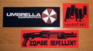 Zombie Apocalypse stickers by ElectrikPinkPirate