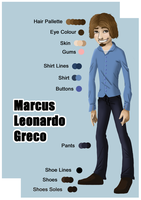 Marcus Character Sheet by northstar2x