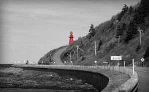 Red Lighthouse by PascalsPhotography