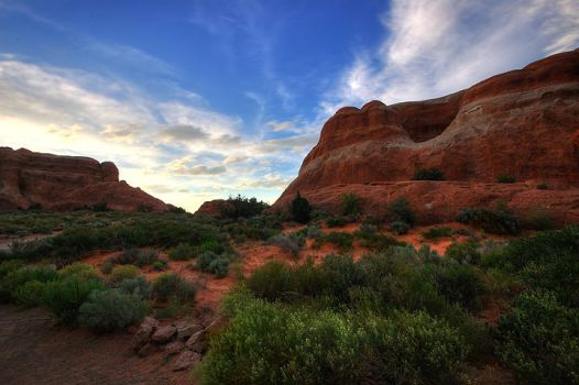 Arches Sunset 03 by ubu