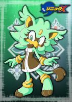 Minz as Sonic X Charater by Pichu-Chan