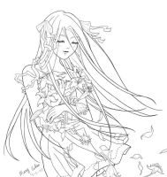 Peace Lineart - Finished by Murasaki-Mary