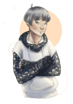 Sweaterboy for an Artfight ! by Shimery