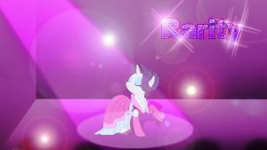 Wallpaper one and only Rarity by Barrfind