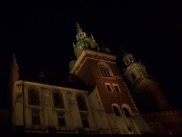 Krakow by night by xxtasiaxx