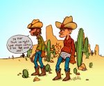 sometimes cowboys get lonely by Bob-Rz