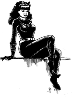 Catwoman Bettie by doctor-morbius