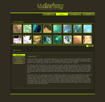 My portfolium v1 by Waterboy1992