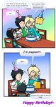 Commish: Birthday Surprise by Nintendrawer