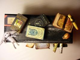 Desk for dusty witches attic3 by SoDarkSoCute