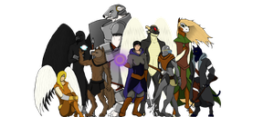 The Nine Races of Archaea by Sabellion