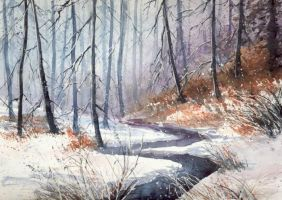 Winter with heather color by nibybiel