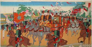 Emperor's visit to international-exhibition by LongXiaolong
