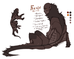 Feerin Sketch Ref by Hauket
