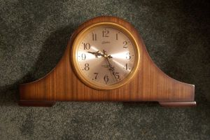 Vintage Clock stock by paintresseye