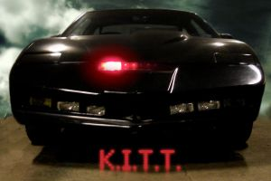 K.I.T.T. Wallpaper by Roger141178