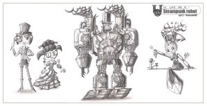 My life as a steampunk robot-2 by Don-ko